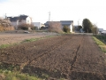H29.3.16ジャガイモ予定地耕起後(1.6a)@IMG_0772