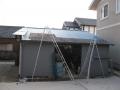 H29.3.24屋根塗装中@IMG_0809