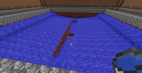 新規TT底に水流