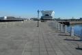 先端から見る客船ターミナル