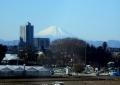 高架橋から見る富士②