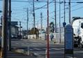 三芳町、病院近くの交差点