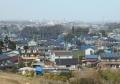 比良の丘から見る所沢市