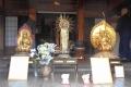 公開中の黄金の仏像