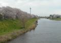 船渡橋から見たびん沼川