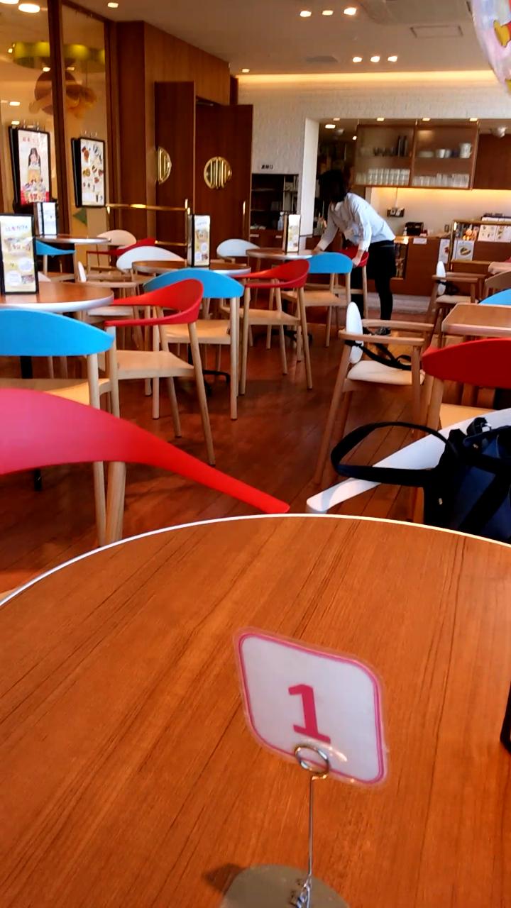 平日のミュージアムカフェ