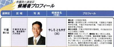 矢代 (09衆院選)