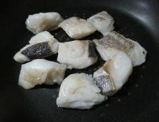 タラのピリ辛テリヤキ 調理③
