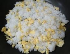 オイスターソース炒飯 調理③
