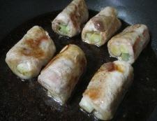 長ねぎの豚ロース巻き 調理⑥