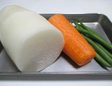大根とベーコンのスープ煮 材料①