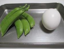 炒り卵トマト 材料①
