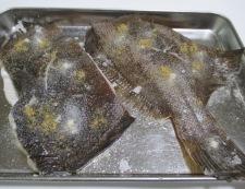 カレイの塩焼 調理①