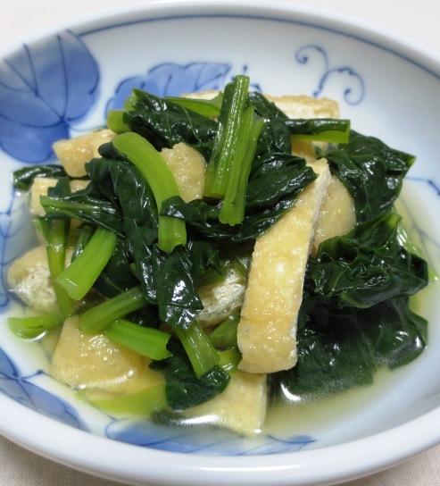 小松菜の煮物 大