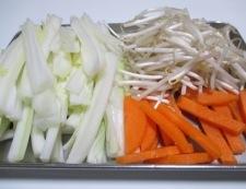 白菜スープ 調理①