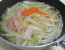 白菜スープ 調理②