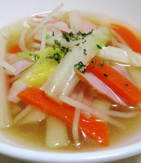 白菜スープ B