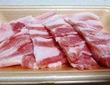 ナスと豚バラ肉の煮物 調理②