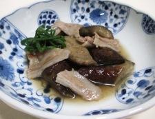 ナスと豚バラ肉の煮物 調理⑥