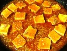 豆腐のチリソース 調理⑤