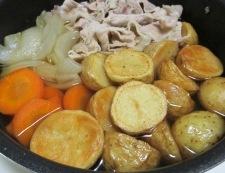 揚げじゃがと豚こまのすっきり煮 調理⑥