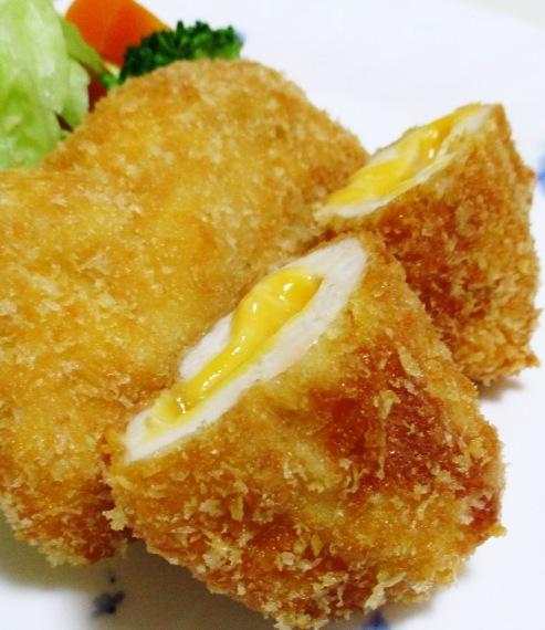 鶏むね肉チーズインフライ 大