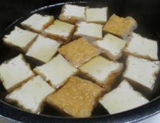 厚揚げとツナの煮物 調理②