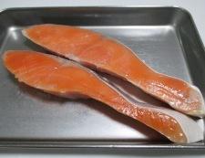 甘塩鮭のおろし煮 材料①