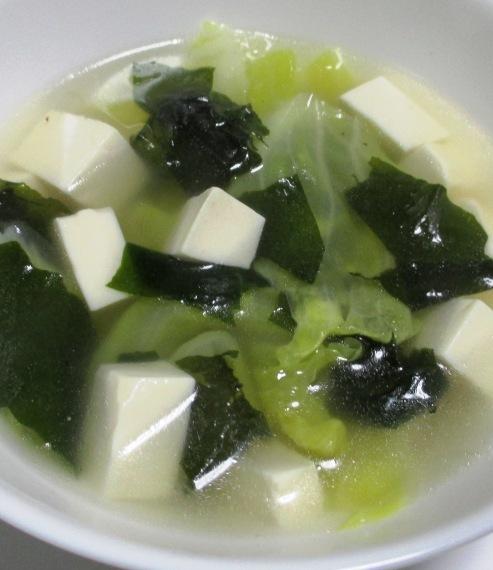 春キャベツのスープ 大