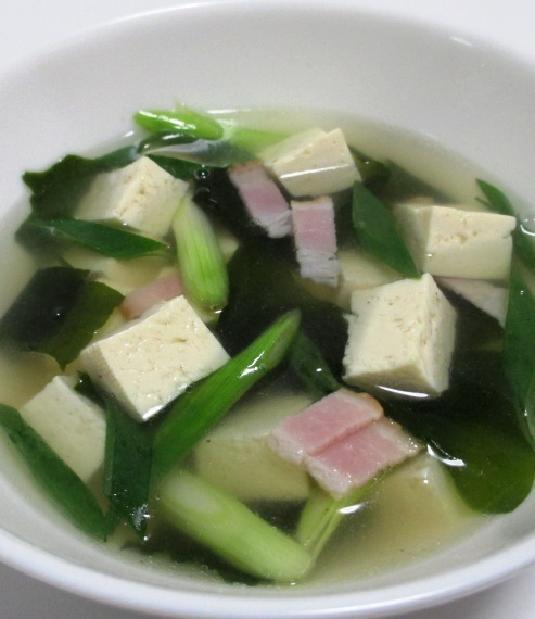 豆腐ベーコン B