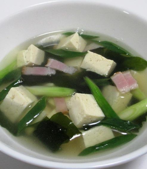 豆腐ベーコン 大