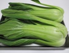 海老と青梗菜のオイスターソース炒め 材料②