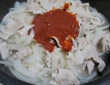 ピリ辛の豚こま味噌煮 調理⑤