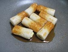 ちくわのチーズイン一味照り焼き 調理③