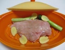 棒々鶏 調理①