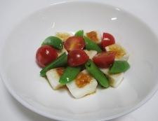 焼きはんぺんとスナップエンドウのサラダ 調理⑤