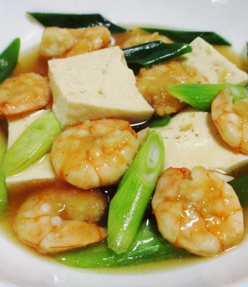 海老と豆腐の和風うま煮 B