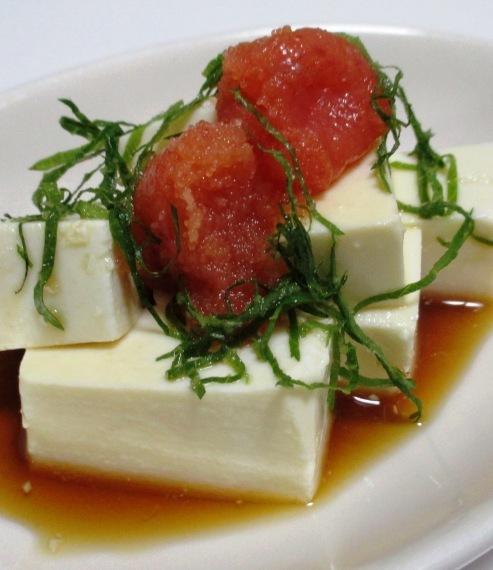 明太子豆腐 B