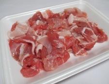 ナスと豚こまの胡麻味噌炒め 材料②