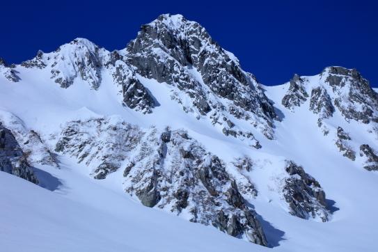 冠雪の宝剣岳