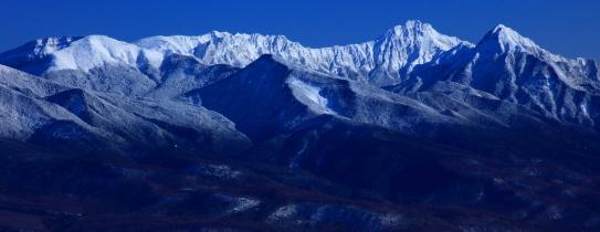 南八ヶ岳の名峰