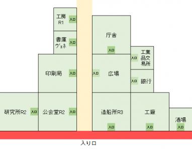 すっとこ2商会開拓街MAP4