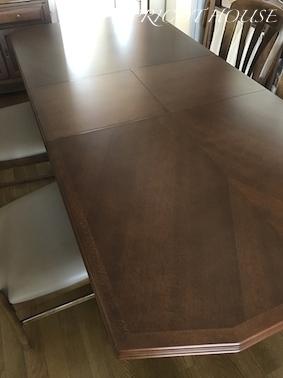 新テーブル伸長