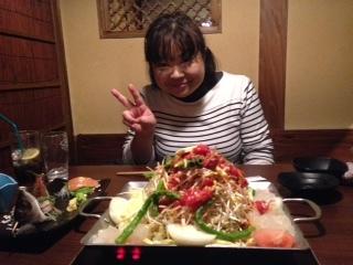 和香2017夕食