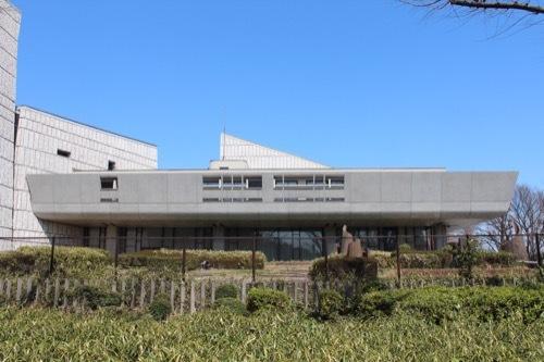 0077:東京文化会館 南側から⑥