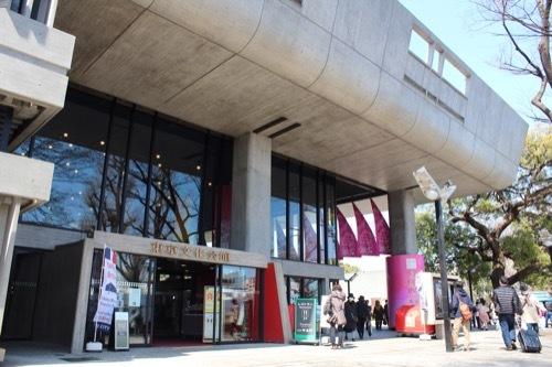 0077:東京文化会館 入口
