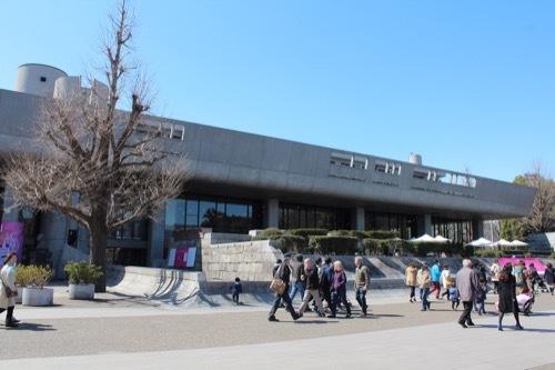 0077:東京文化会館 北側から①
