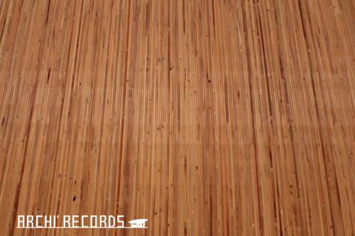 0171:秋野不矩美術館 第一展示室の床(クレ)