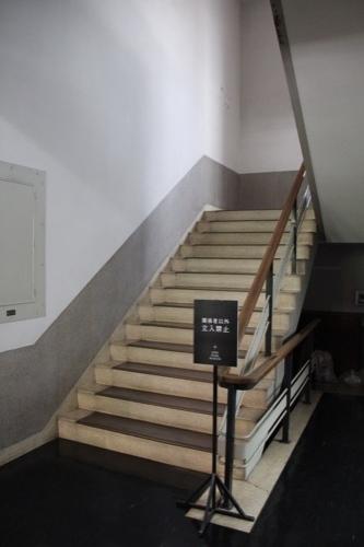0227:日本真珠会館 階段①