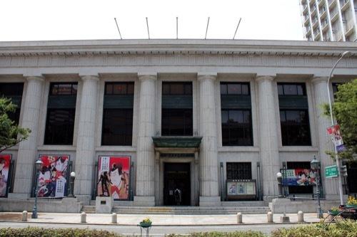 0228:神戸市立美術館 博物館正面